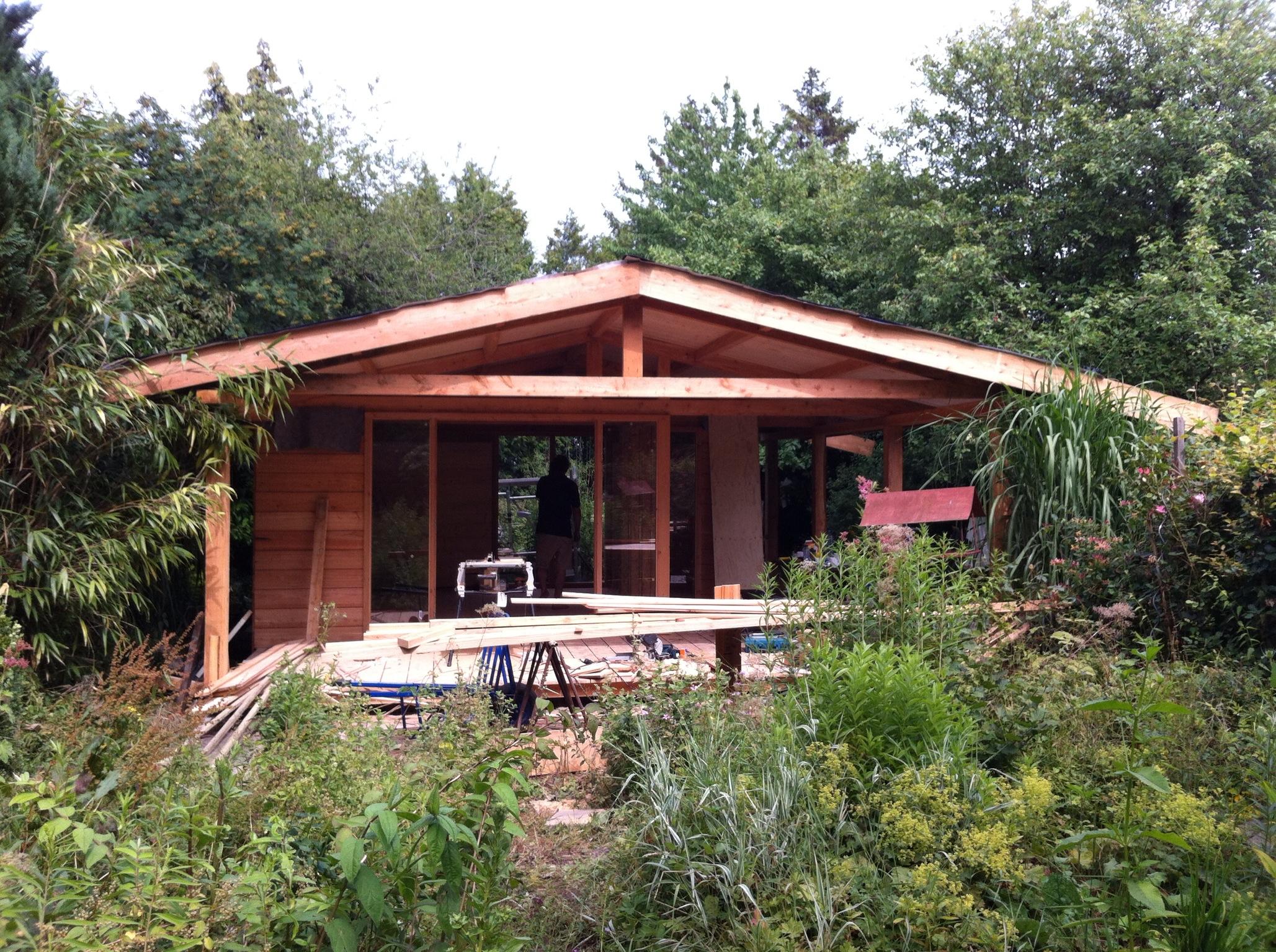 Tuinhuis tuinhuis 6 op 3 : Tuinhuizen en schuren : Gepetto Hout